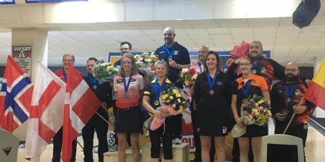 Avrupa Bowling Şampiyonası'nda İsveç ve Norveç ipi göğüsledi