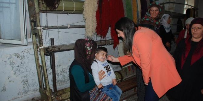 Pekmez'den Tut Halk Eğitim Merkezine ziyaret