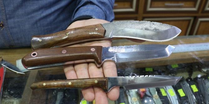Altı kuşaktır bıçak üretiyorlar