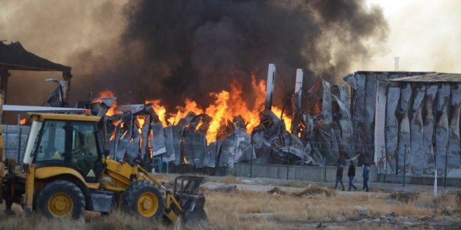 Ereğli'de fabrika yangını (2)- Yeniden