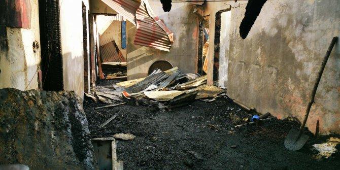 Baba- oğlun öldüğü evdeki yangından 1'i bebek 6 kişi kurtarılmış