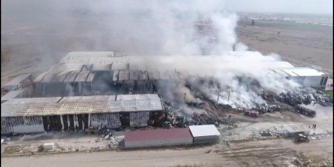 Ereğli'de fabrika yangını (3)
