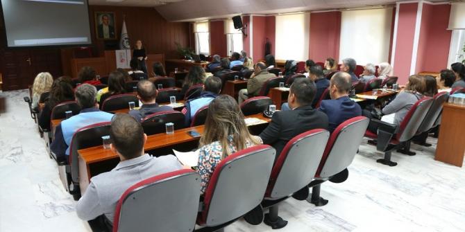 Odunpazarı Belediyesi çalışanlarına lösemi hakkında bilgi verildi