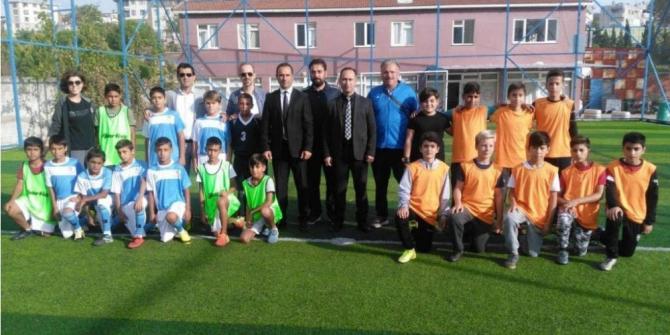 Okullar arası futbol turnuvası sona erdi