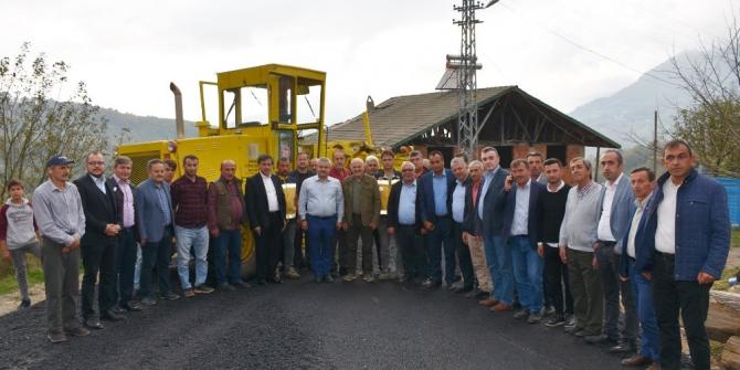 Yenice ilçesine bağlı köylerde asfalt çalışmaları başladı
