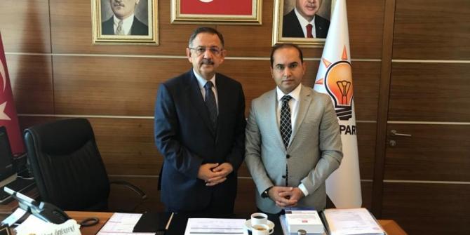 Başkan Sezer, Gevaş'ın sorunlarını Ankara'ya taşıdı
