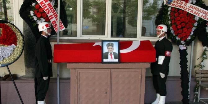Kore gazisi, Kilis'te son yolculuğuna uğurlandı