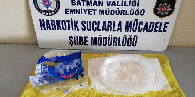 Batman'da 397 gram metamfetamin ele geçirildi