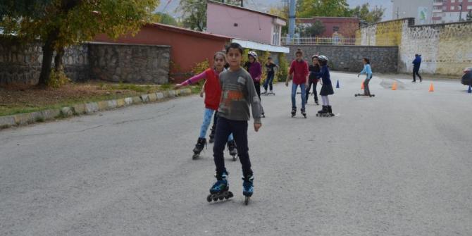 Muşlu çocuklar sporla kötü alışkanlıklardan uzaklaşıyor