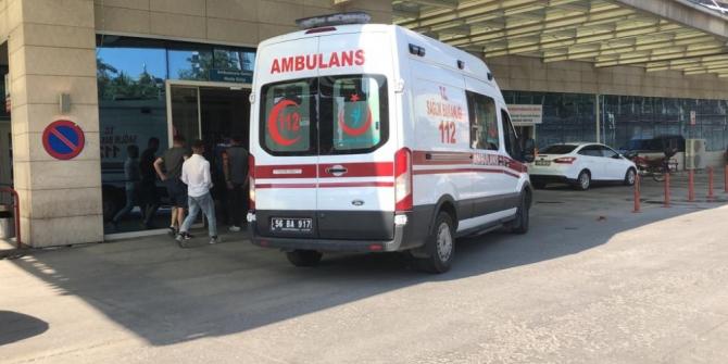 Siirt'te inşaat düşen işçi ağır yaralandı
