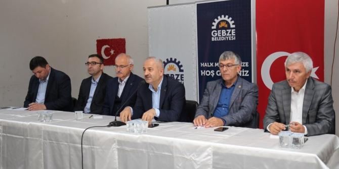 Gebze'de 'Mahalle Meclisleri' devam ediyor