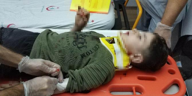 Samsun'da 2. kattan düşen 5 yaşındaki çocuk ağır yaralandı
