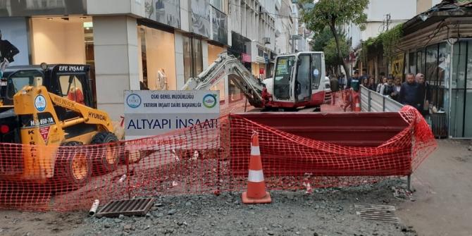 Sırrı Paşa Caddesi'ne 25 yıl sonra ilk kazma