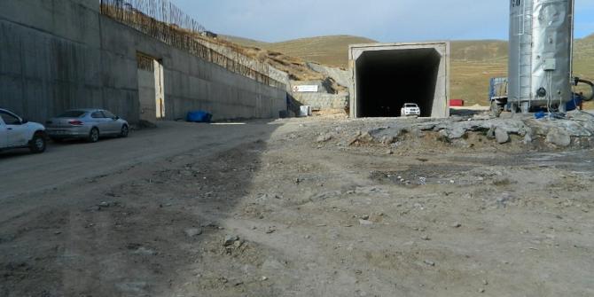 Ulgar Dağı Tüneli'nde çalışmalar devam ediyor
