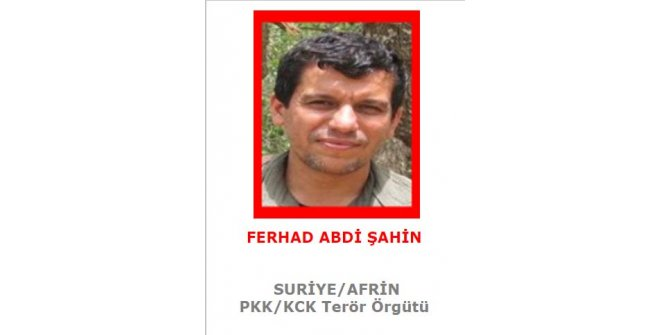 PKK/YPG'li Şahin'in tutuklanma talebi Dışişleri Bakanlığı'nda