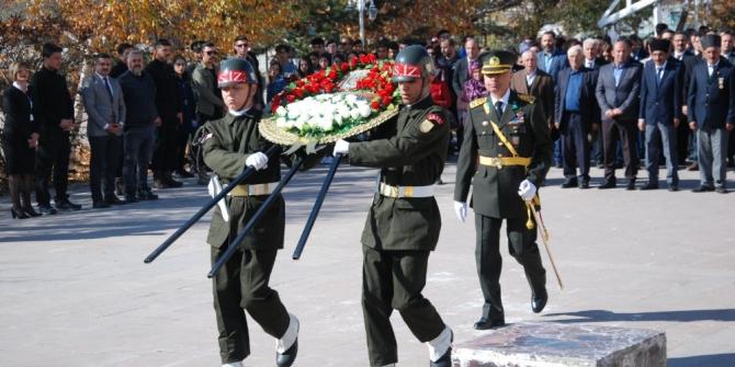 Ardahan'da 29 Ekim kutlamaları çelenk sunma töreni ile başladı