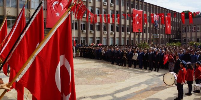 Aydın'da 29 Ekim Cumhuriyet Bayramı kutlamaları başladı