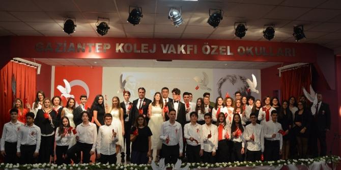 Gaziantep Kolej Vakfı'nda 96.yıl coşkusu