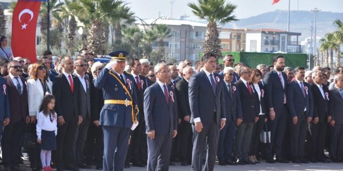 Cumhuriyet Bayramı kutlamaları Aliağa'da başladı
