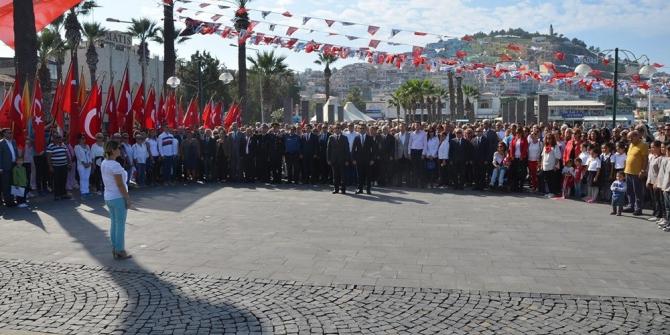 Kuşadası'nda Cumhuriyet Bayramı coşkusu başladı