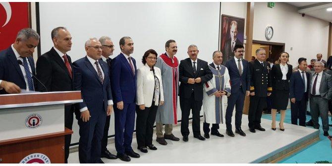 İskenderun Teknik Üniversitesi'nden Hisarcıkloğlu'na 'fahri doktora'