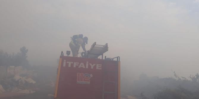 Kazdağları'nda korkutan yangın