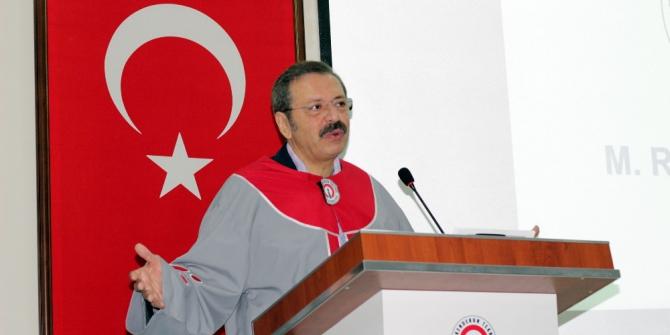 Hisarcıklıoğlu'na fahri doktora unvanı