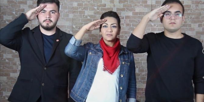 İzmirli gençlerden 'Vatan Marşı' ile 29 Ekim klibi