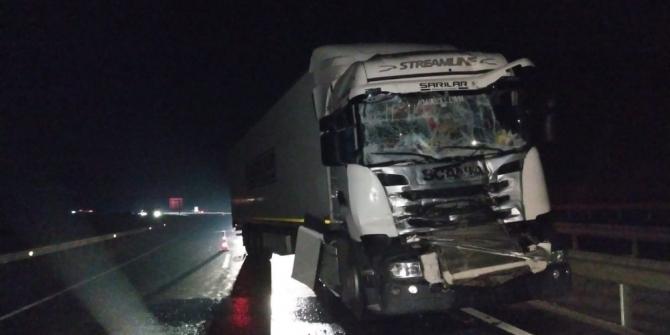 Bilecik'te yola dökülen mazot kazaya neden oldu
