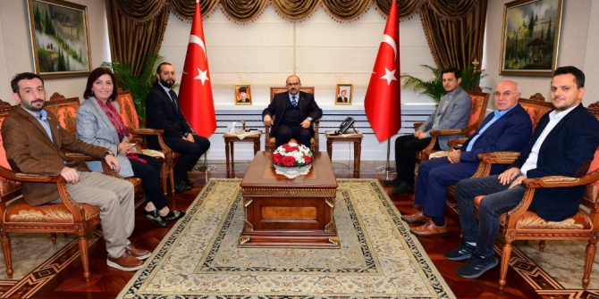 TSYD Trabzon Şubesi'nden Vali Ustaoğlu'na ziyaret