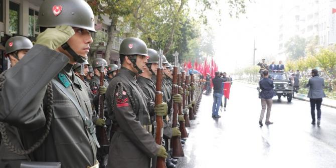 Kahramanmaraş'ta Cumhuriyet coşkusu