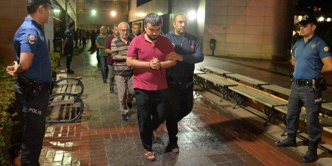 Mersin'de FETÖ'ye 14 tutuklama