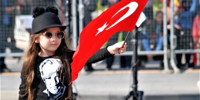 Tokat'ta miniklerin Cumhuriyet Bayramı heyecanı