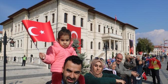 Sivas'ta Cumhuriyet Bayramı coşkusu