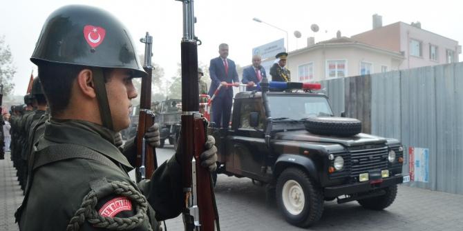 Lüleburgaz'da coşkulu Cumhuriyet Bayramı kutlamaları