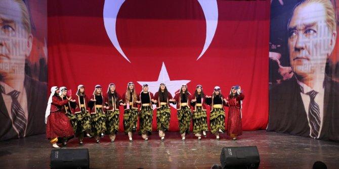 Mardin'de Cumhuriyet Bayramı coşkusu