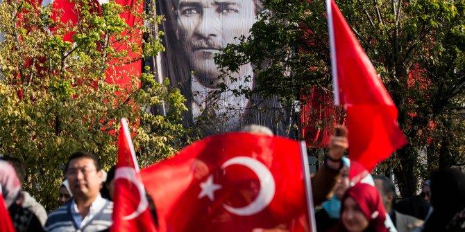 Vatan Caddesi'nde 29 Ekim Cumhuriyet Bayramı töreni(1)