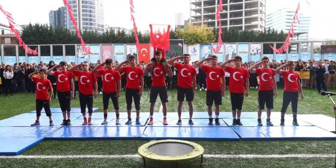 """Bağcılarlı öğrencilerden """"Barış Pınarı"""" mesajı"""