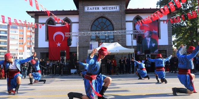 Afyonkarahisar'da renkli Cumhuriyet Bayramı kutlaması