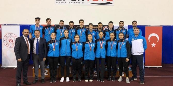 Sakarya Büyükşehirli karatecilerden 14 madalya