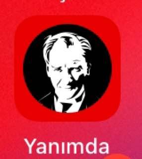 Vodafone logosuna Atatürk fotoğrafı koydu