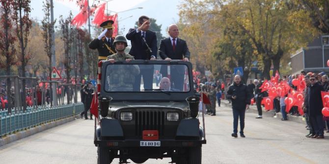 Erzurum'da cumhuriyet coşkusu