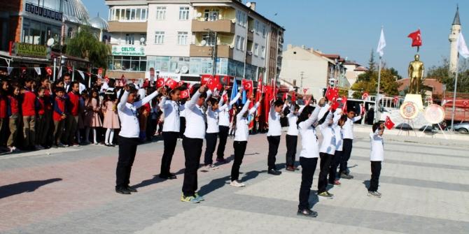 Çeltik'te Cumhuriyet Bayramı coşkusu