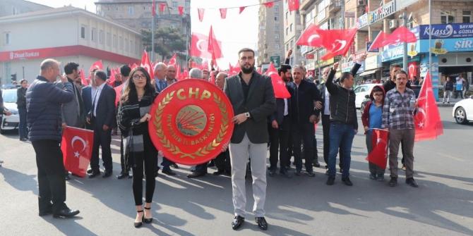 CHP, Nevşehir'de Cumhuriyet yürüyüşü yaptı