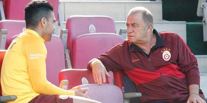 Galatasaray'da Falcao fizyoterapistler eşliğinde çalıştı