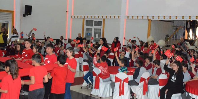 Gülüç'te Cumhuriyet Bayramı'nda renkli görüntüler sergilendi