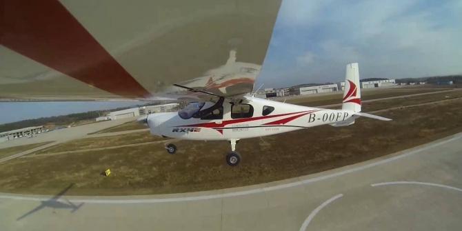 Çin'in elektrikli uçağından ilk uçuş