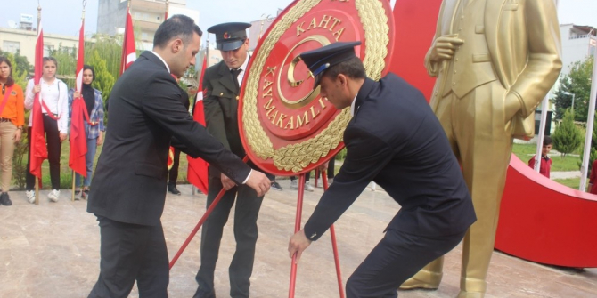 Kahta'da Cumhuriyet Bayramı kutlandı