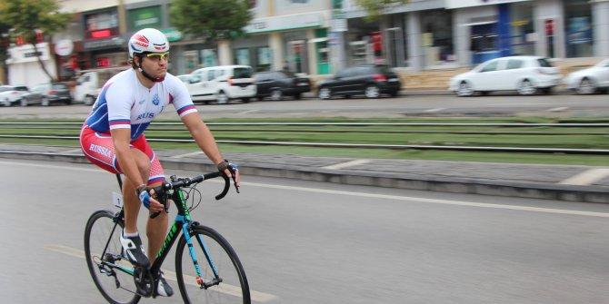 Dünya İşitme Engelliler Bisiklet Şampiyonası, Gaziantep'te başladı