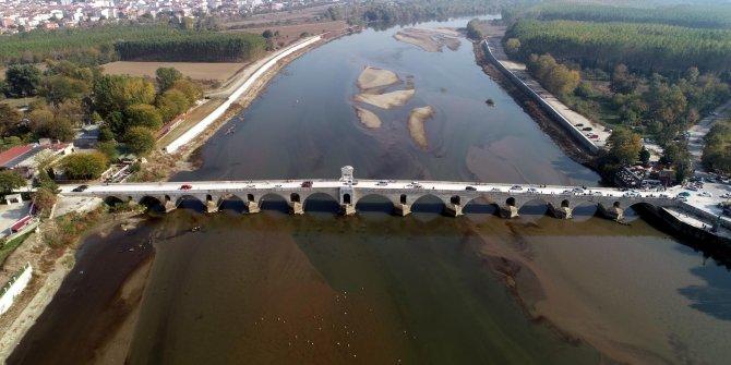 Restore edilen tarihi Meriç Köprüsü, trafiğe açıldı